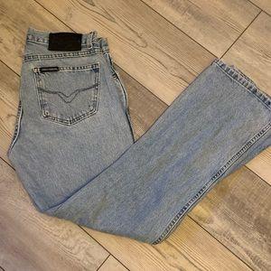 Harley Davidson high waisted boot cut jeans